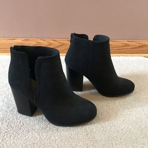 Call It Spring Black Bootie Heels